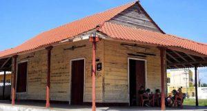 Antigua estación de Izamal